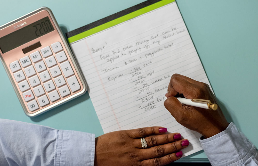written budget